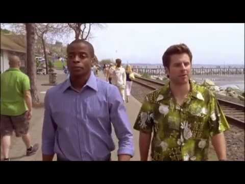 Psych Season 1-8 - Shawn & Gus Nicknames