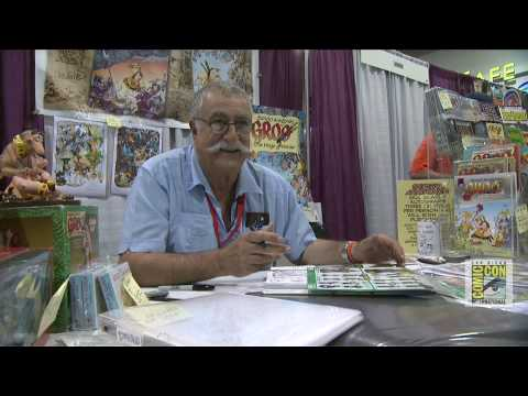Sergio Aragones on 40 Years of Comic-Con