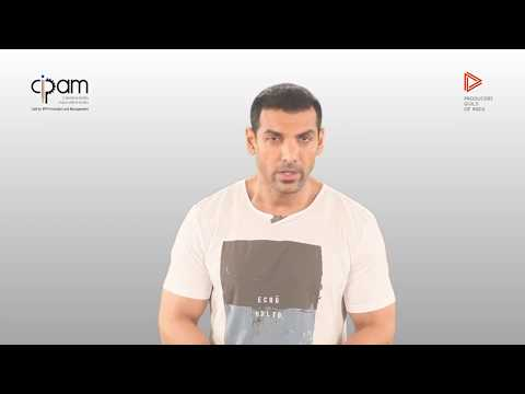 John Abraham urges us to Stand Against Piracy!