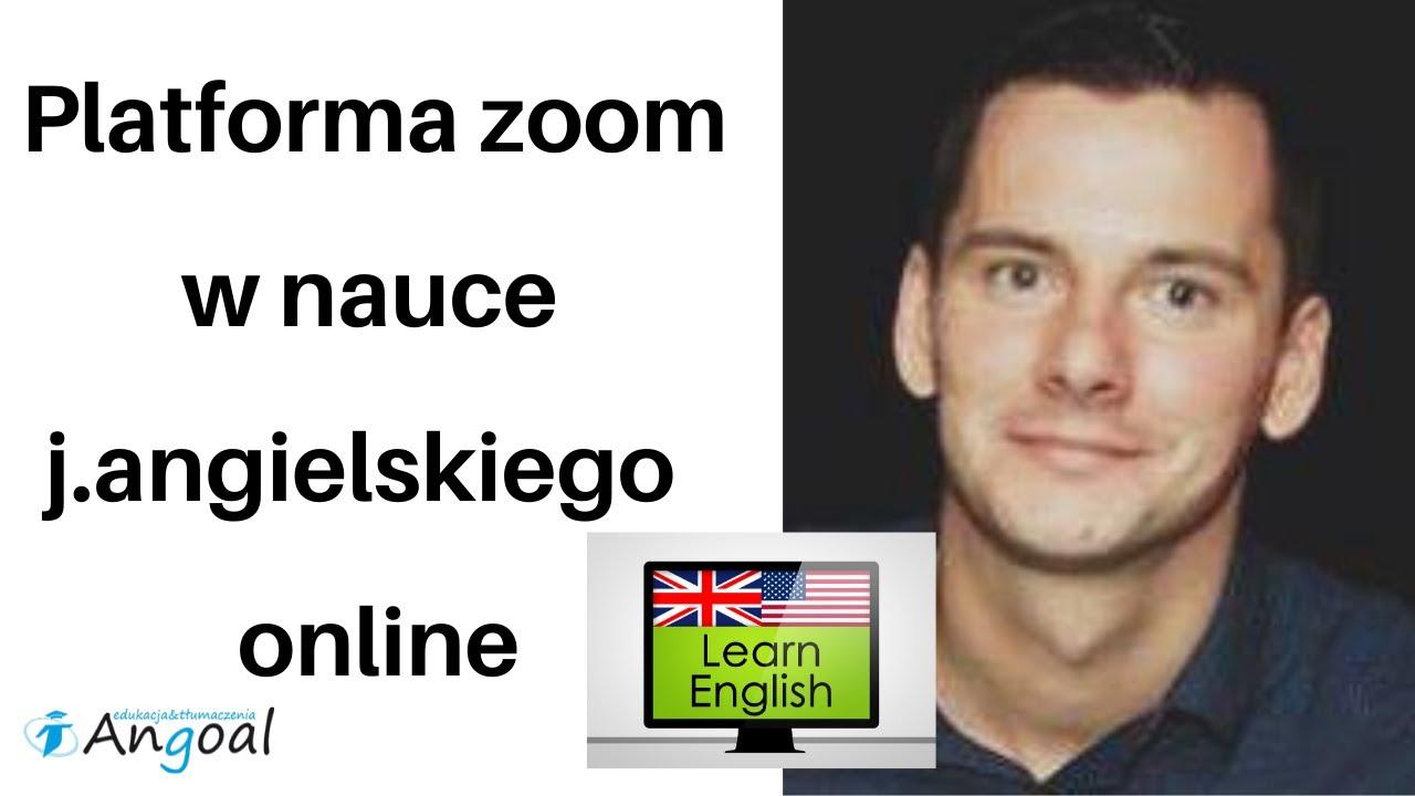 Jak nauczyć się języka angielskiego na platformie zoom