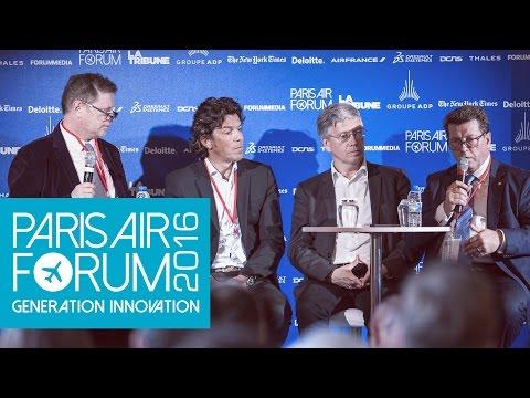 PARIS AIR FORUM Innovation : quelle place pour les startups dans l'aviation ?