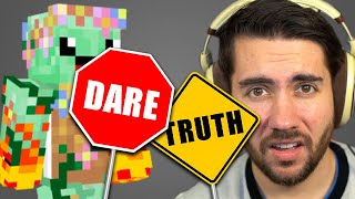 Truth Or Dare With Brothers (THEY BOTH GOT MAD!) | Minecraft