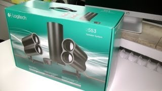 Logitech Z553 2.1 Speaker System Unboxing and First Look
