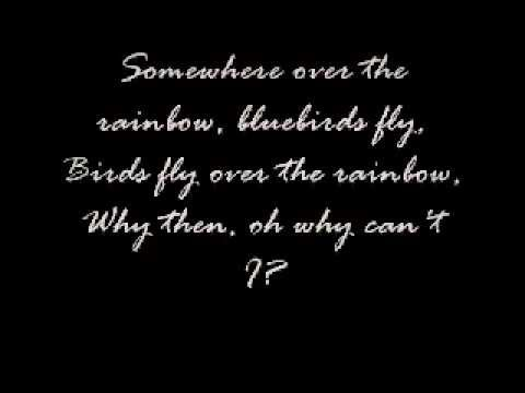 somewhere over the rainbowwith lyrics50firstdates