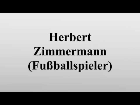 Herbert Zimmermann (Fußballspieler)