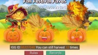 12 Pumpkin & Firework Smashes For Demogorgon Rolling 22k Gems Heroes Castle Clash