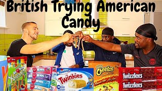 BRITISH TRYING AMERICAN 'CANDY'