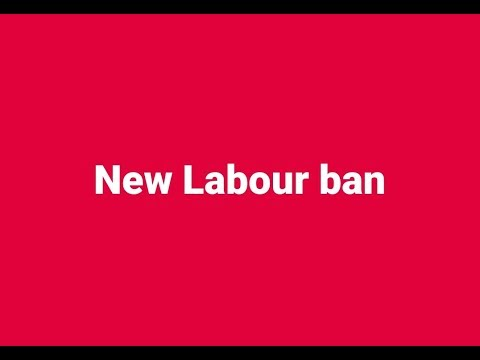 Very important NEW labour court ban information