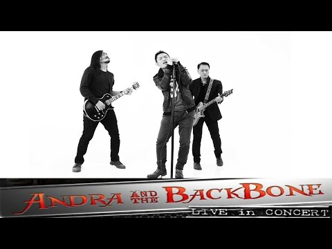 ANDRA & THE BACKBONE LIVE CONCERT JAKARTA INDONESIA RECORDED WITH IPHONE 7