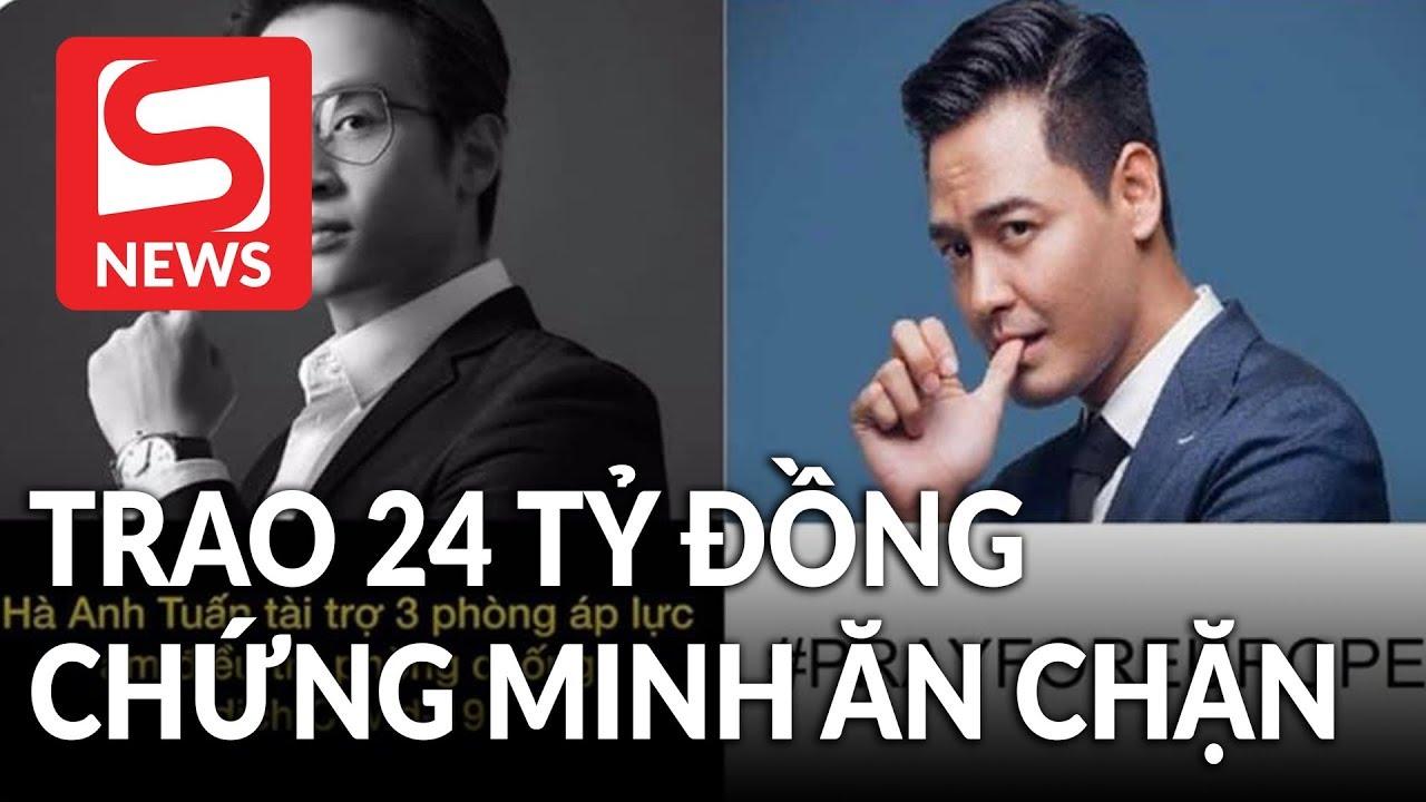 MC Phan Anh trao 24 tỷ đồng cho người chứng minh anh ăn chặn tiền từ thiện