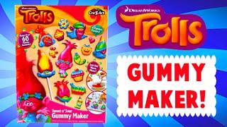 Dreamworks Trolls Gummy Candy Maker with Blind Bag Toy Surprises