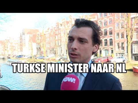 Turkse minister naar Nederland