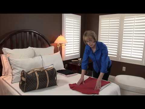 How to Roll Clothing for Packing : Smart Packing & Travel Tips