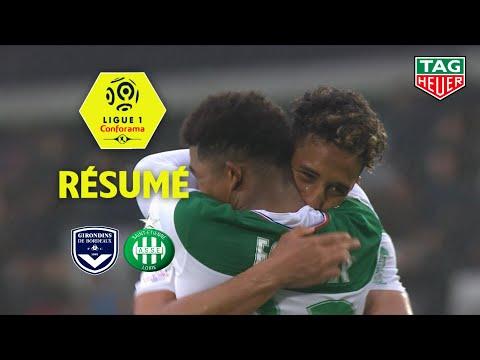 Girondins de Bordeaux - AS Saint-Etienne ( 0-1 ) - Résumé - (GdB - ASSE) / 2019-20