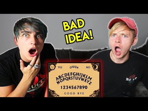 Playing An ONLINE Ouija Board... (never Again)