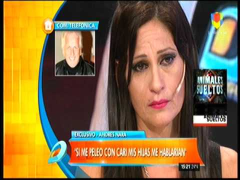 Andres Nara dejó en vivo a Cari en San Valentín