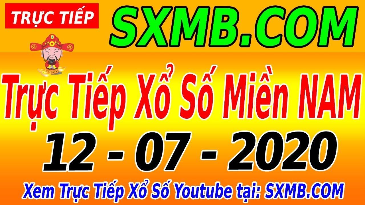 XSMN TRỰC TIẾP XỔ SỐ MIỀN NAM HÔM NAY CHỦ NHẬT NGÀY 12/07/2020, KQXS MIEN NAM