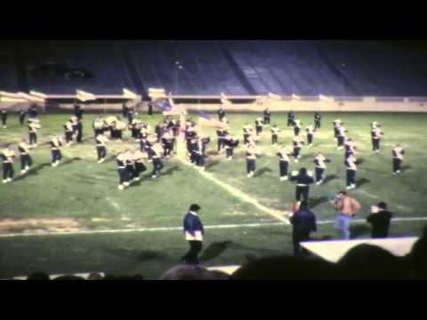 Drum Corp Show Spartan Stadium 1972