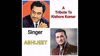 Wada Hai Kya Kya Hai Kasam (Taxi Chor)_A Tribute To Kishore Kumar_By_Abhijeet Bhattacharya