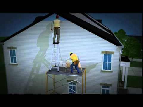 Fixed Scaffolds: Prevention Video (v-Tool): Falls in Construction