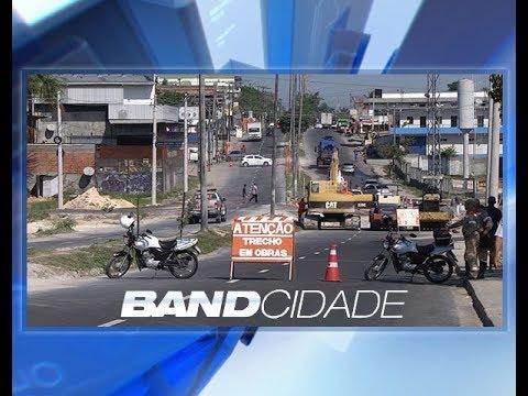 Trechos nas avenidas 7 de Maio e Flores são alterados para obras