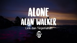 Download Lyric/lirik Alone - Alan Walker ( We Rabbitz Remix )