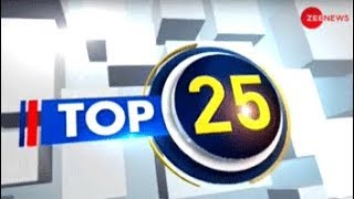 Top 25: Watch top news stories of the day