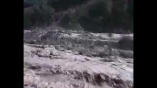 Лазаревское. Наводнение 1991