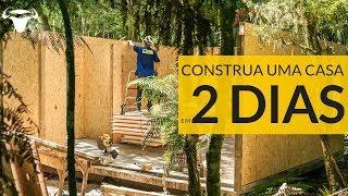 Construção de casa em 2 dias com SIP