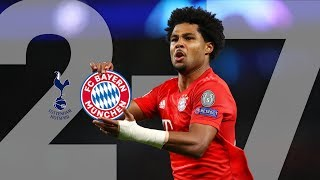 Highlights - Serge Gnabry cooking 4 times: All FC Bayern Goals of the epic 7-2 vs. Tottenham Hotspur