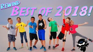 BEST of 2018! Ninja Kidz REWIND