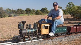 Firing up the Allen Models Fitchburg Northern Live Steam Locomotive thumbnail