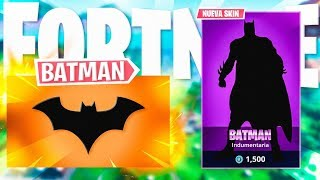 BATMAN X FORTNITE