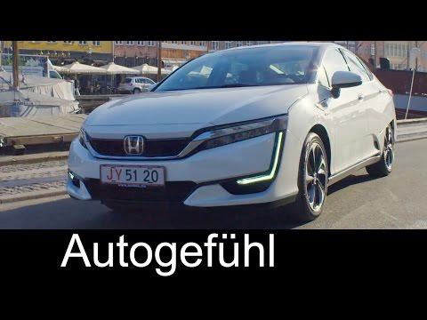 Honda Clarity fuel cell vehicle features Preview - Autogefühl