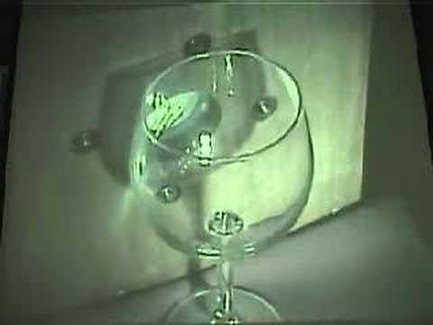 Breaking A Wine Glass Using Resonance Youtube