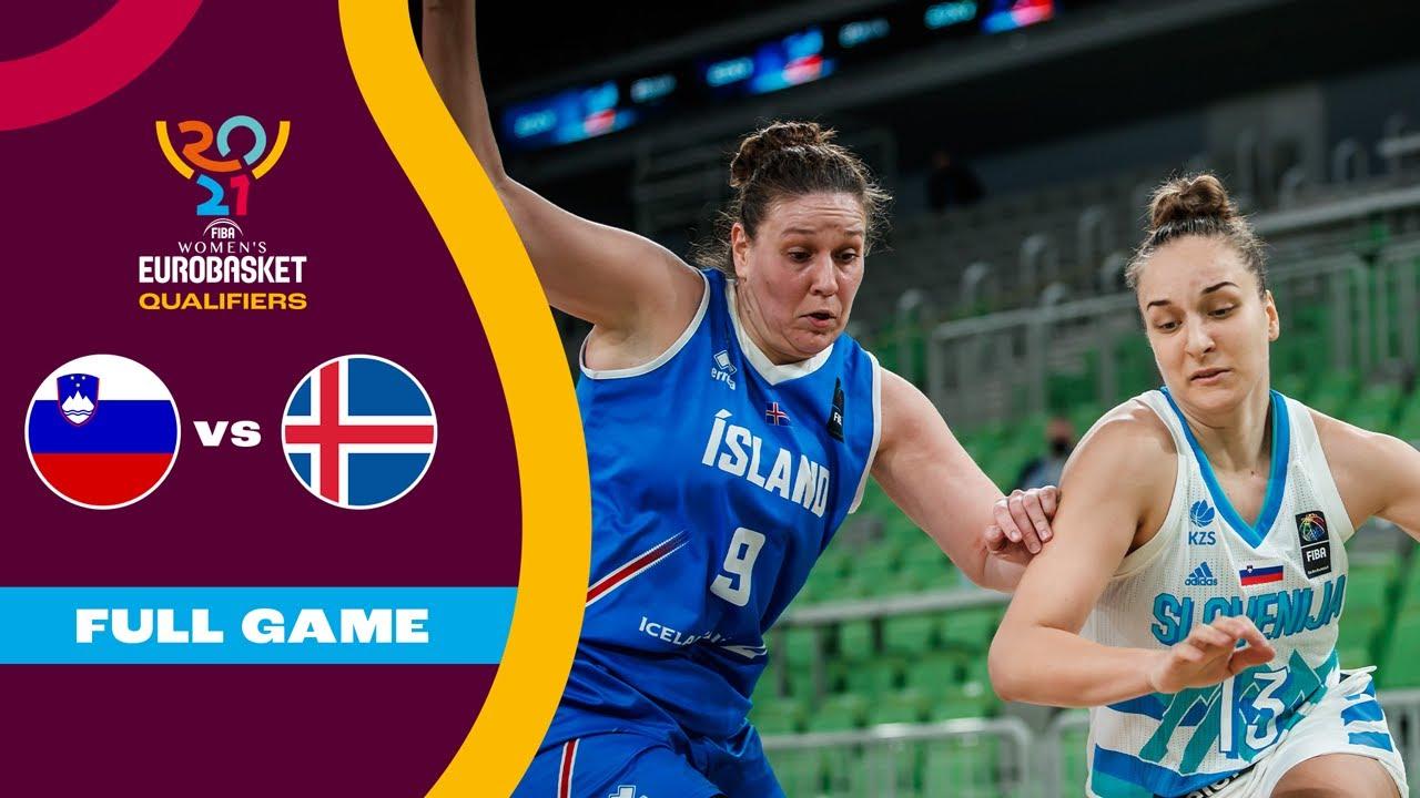 Slovenia v Iceland   Full Game