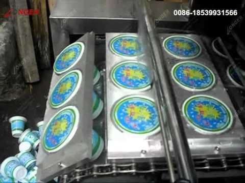 Automatic Jam/Yogurt Cup Filling Sealing Machine