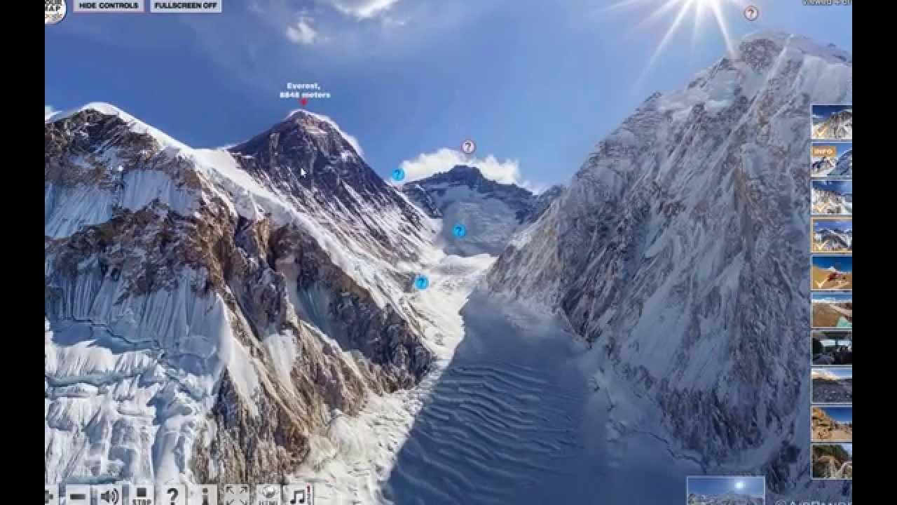 mt everest virtual tour: airpano.com - YouTube