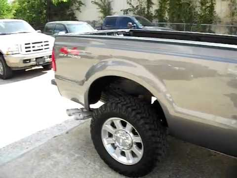 2008 FORD F-350 SUPER DUTY 4X4 DIESEL LARIAT LEVELING KIT ...