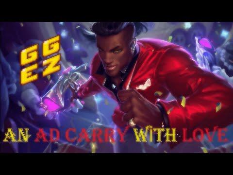 Heartseeker Lucian Adc gameplay - League of Legends