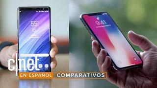 iPhone X vs. Note 8: Que gane el mejor