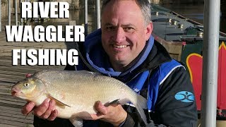 River Waggler Fishing On Punch and Maggots.
