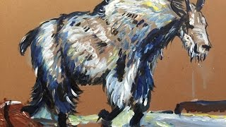 How To Paint A Mountain Goat - Expert Tutorial