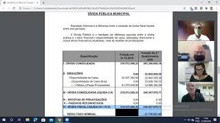 """Audiência Pública """"Demonstração e Avaliação das Metas Fiscais 2º Quadrimestre 2020 """""""