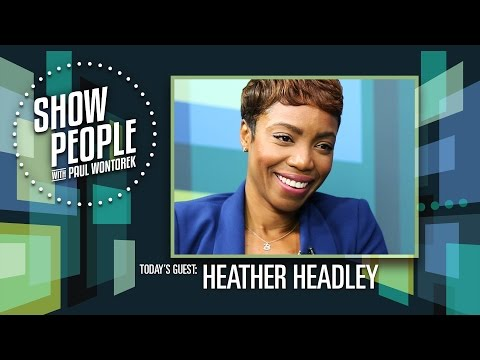 Show People with Paul Wontorek: Heather Headley of THE COLOR PURPLE