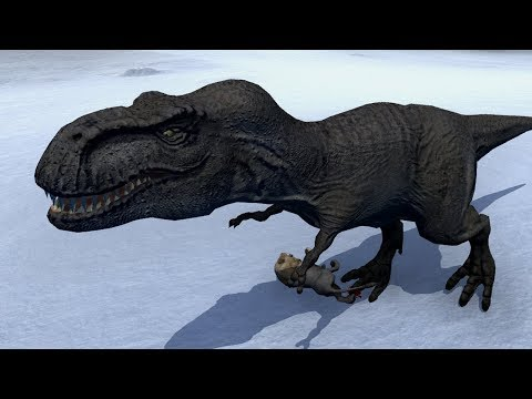 Игра Симулятор Динозавра Каннибала