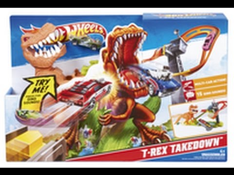 circuit hotwheels dinosaure attention aux piranhas youtube. Black Bedroom Furniture Sets. Home Design Ideas
