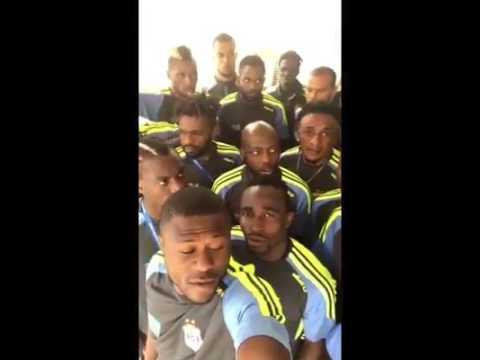 DR Congo refuse to train