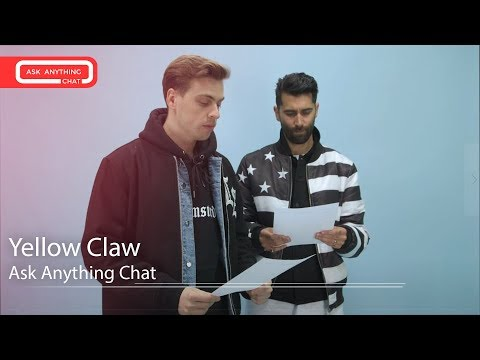 Yellow Claw Talk About Becky G, Pharrell & A Pimped Out Tesla. Watch Part 2