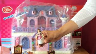 Doll House Tour Videos - Chad Valley Pretty Pink Princess Castle Toys New 2014